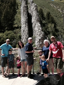 the families at devils slide.